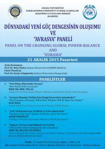 Avrasya Panel Poster